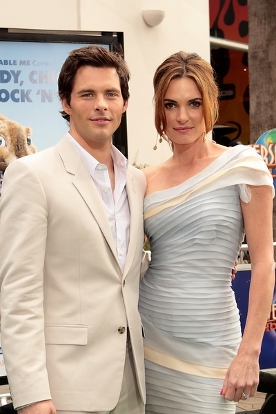James Marsden and Wife Lisa Linde Pictures: Hop Movie Premiere Photos, Pics