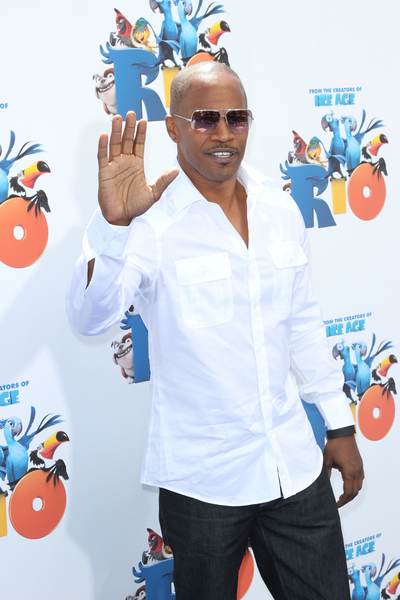 Jamie Foxx Pictures: Rio Movie Premiere Red Carpet Photos, Pics