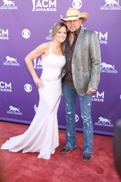 Jason Aldean and Jessica Aldean Pictures: Academy of Country Music (ACM) Awards 2012 Photos, Pics