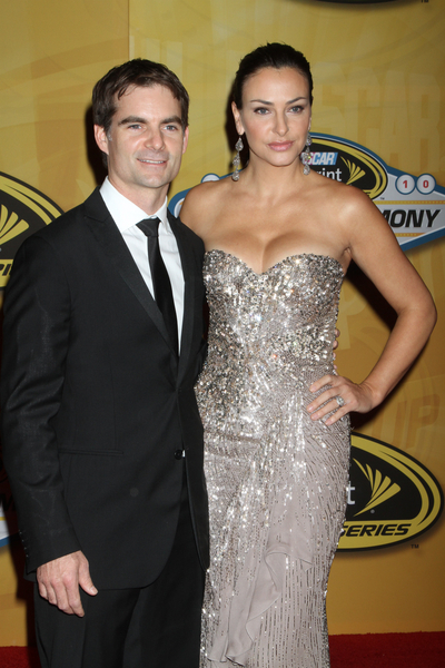 Jeff Gordon and Ingrid Vandebosch Pictures: 2010 NASCAR Sprint Cup Series Awards Banquet Photos and Pics
