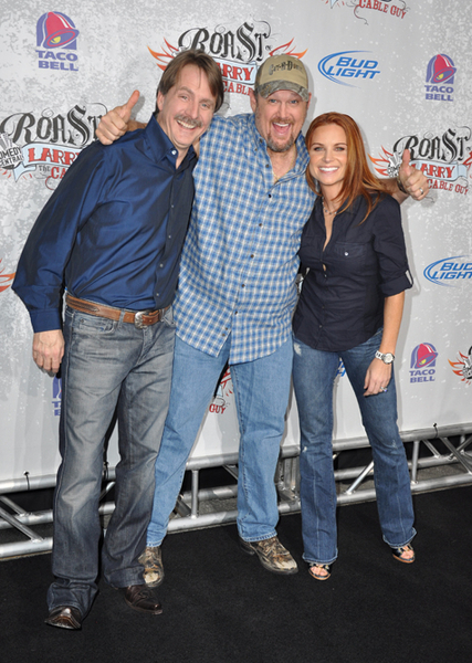 Jeff Foxworthy, Larry the Cable Guy and Cara Whitney Pictures, Photos & Pics - Comedy Central Roast