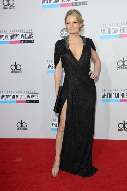 Jennifer Morrison Pictures: American Music Awards (AMAs) 2012 Red Carpet Photos, Pics