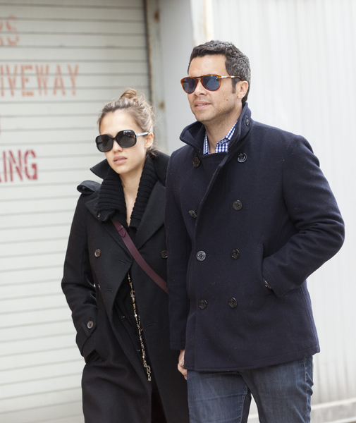 Jessica Alba and Cash Warren Paparazzi Pictures: New York City Sighting March 5, 2011 Photos, Pics