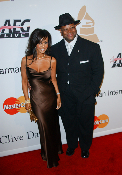 Jimmy Jam and Wife Lisa Harris Pictures: Clive Davis Pre-Grammy Award Gala 2010 Red Carpet Photos