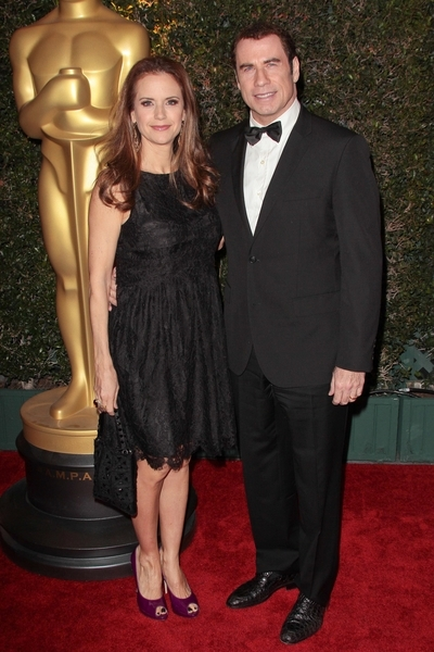 John Travolta and Kelly Preston Pictures: Governors Award Dinner 2011 Photos, Pics