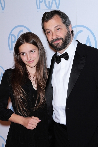 Judd Apatow, Daughter Maude Apatow Pictures: Producers Guild Awards 2012 Red Carpet Photos, Pics