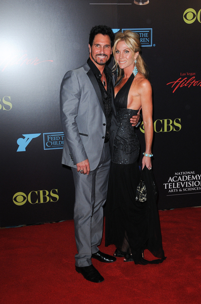 Don Diamont and Cindy Ambuehl Pictures: Daytime Emmy Awards 2010 Fashion Photos and Pics