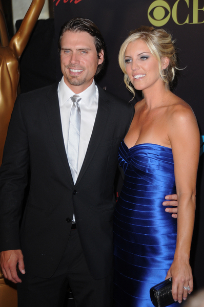 Joshua Morrow and Wife Tobe Pictures: Daytime Emmy Awards 2010 Fashion Photos and Pics