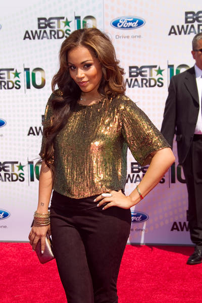 Lauren London Pictures: BET Awards 2010 Red Carpet Fashion Photos and Pics