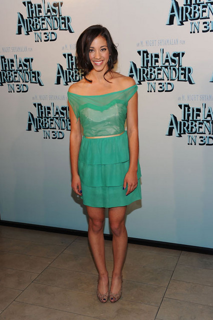 Seychelle Gabriel Hot Style Pictures: The Last Airbender Premiere Red Carpet Photos and Pics
