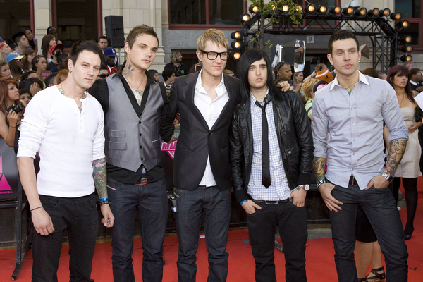 82200eee7e46 The Stereos Pictures  The Stereos arrive on the red carpet at the 21st  annual MuchMusic Video Awards at the MuchMusic HQ on June 20