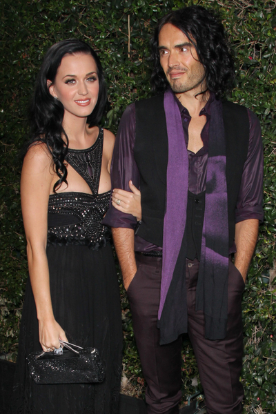 Katy Perry and Russell Brand Pictures: American Music Awards 2010 Rolling Stone After Party Photos and Pics