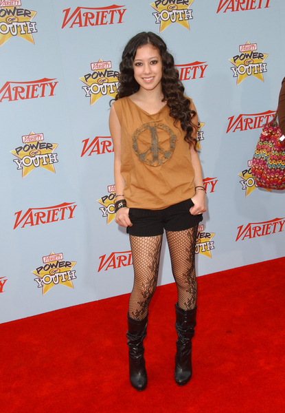 Keana Texeira Pictures: Variety Power of Youth Event 2009 Red Carpet Photos