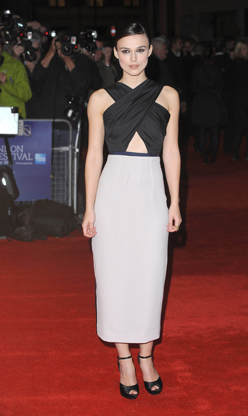 Keira Knightley Style Pictures: BFI London Film Festival 2011 - A Dangerous Method Photos, Pics