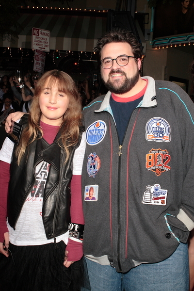 Kevin Smith and Daughter Harley Quinn Pictures  The Twilight Saga  New    Kevin Smith Daughter