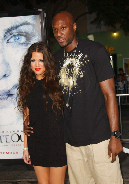 Khloe Kardashian and Lamar Odom Pictures: Whiteout Premiere Red Carpet Photos