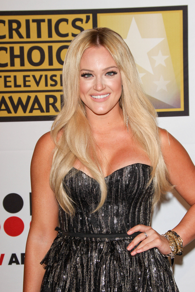 Lacey Schwimmer Hair Pictures: Critics' Choice Television Awards 2011 Red Carpet Photos, Pics