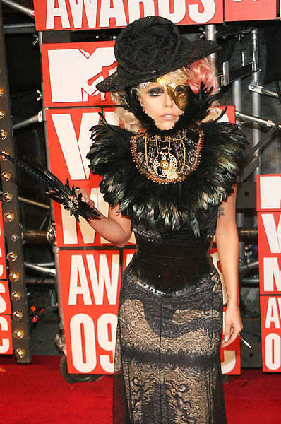 Lady Gaga VMA Outfit Pictures: 2009 MTV Video Music Awards Red Carpet Photos
