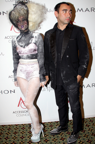 Lady Gaga Fashion Style Pictures: ACE Awards 2009 Presented by the Accessories Council Photos
