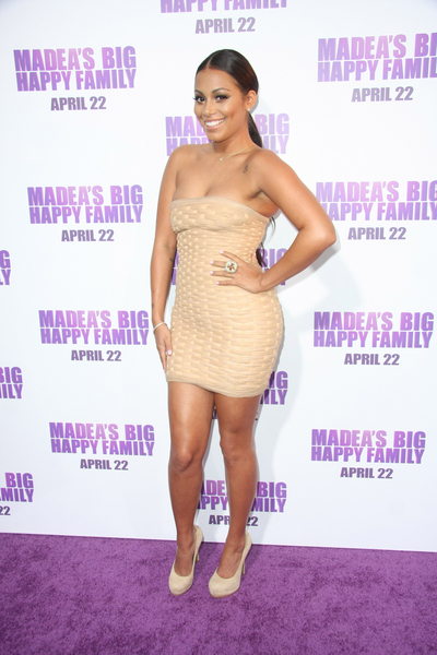 Lauren London Pictures: Madea's Big Happy Family Movie Premiere Photos, Pics