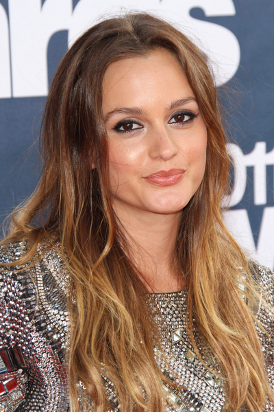 Leighton Meester Hair Pictures: MTV Movie Awards Red Carpet 2011 Photos, Pics