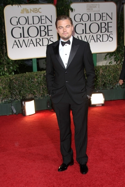 Leonardo DiCaprio Pictures: Golden Globes 2012 Awards Red Carpet Photos, Pics