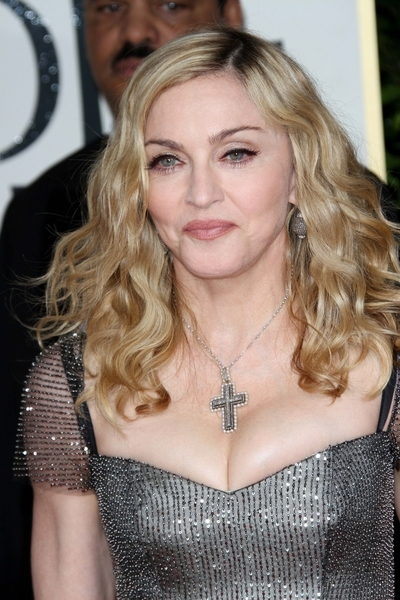 Madonna Pictures: Golden Globes 2012 Awards Red Carpet Photos, Pics