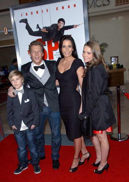 Magnus Scheving, Wife Ragnheidur Melsted and Children ...
