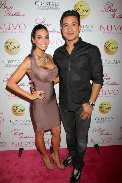 Mario Lopez and Courtney Mazza Pictures: Eva Longoria Birthday Eve Nightclub Las Vegas Photos, Pics