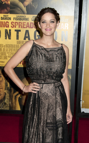 Marion Cotillard Hot Style Pictures: Contagion Movie Premiere Photos, Pics