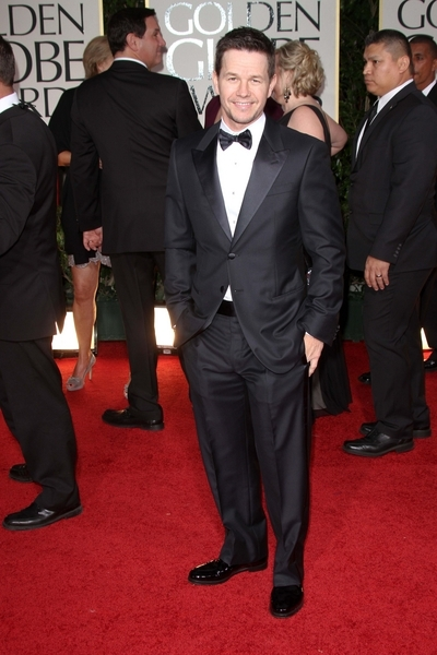 Mark Wahlberg Pictures: Golden Globes 2012 Awards Red Carpet Photos, Pics