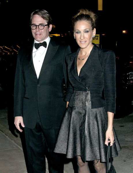 Matthew Broderick and Sarah Jessica Parker Pictures: New York City Center Reopening Photos, Pics