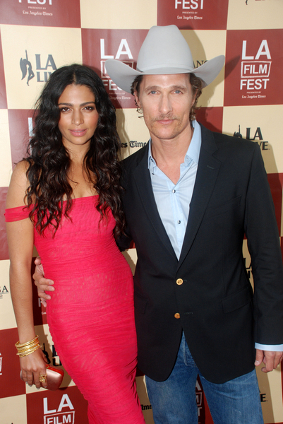 Matthew McConaughey and Camila Alves Pictures: Los Angeles Film Festival 2011 Photos, Pics