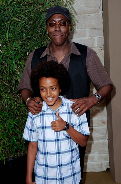 Arsenio Hall and Son Arsenio Jr. Pictures: The Karate Kid Los Angeles Premiere Red Carpet Photos and Pics