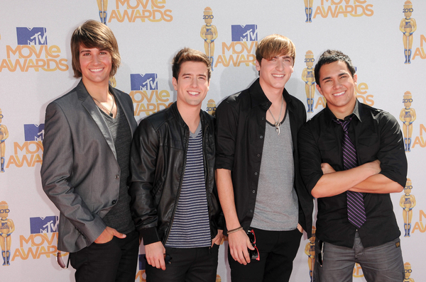 Big Time Rush Pictures: MTV Movie Awards 2010 Red Carpet Photos and Pics
