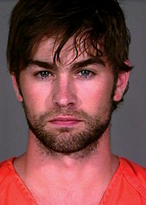 Is she really.... Chace-crawford-mugshot