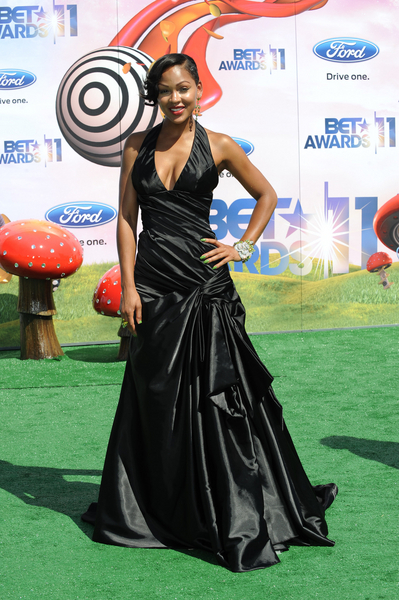 Meagan Good Hot Style Pictures: BET Awards 2011 Red Carpet Photos, Pics