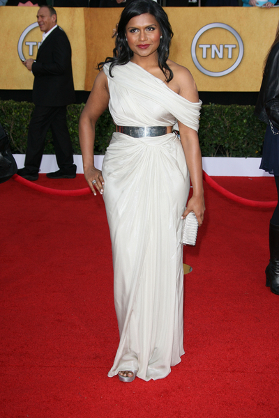 Mindy Kaling SAG Awards 2011 Red Carpet Pictures: 17th Screen Actors Guild Awards Photos and Pics