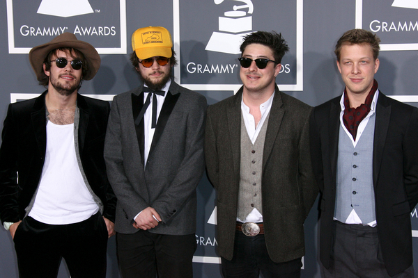 Mumford And Sons Hair Mumford And Sons Grammys 2011