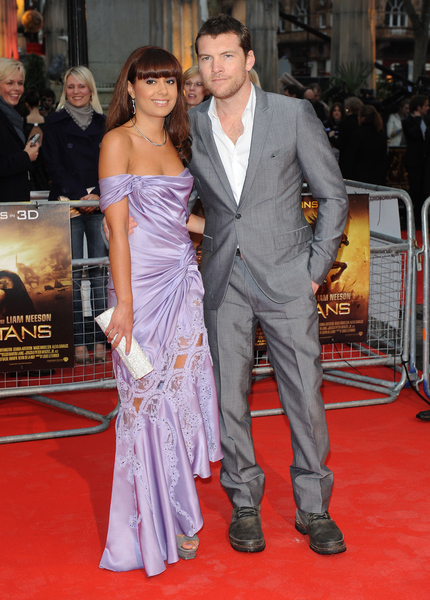 Sam Worthington and Girlfriend Natalie Mark Photos: Clash of the Titans London Premiere Red Carpet Pictures