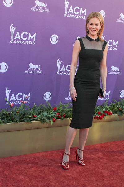 Nicole Kidman Hot Style Pictures: Academy of Country Music (ACM) Awards 2012 Photos, Pics