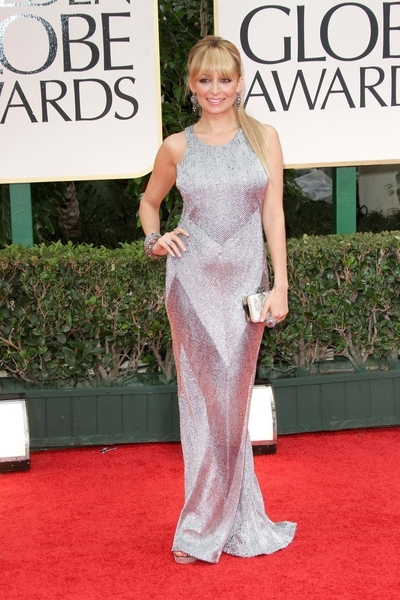 Nicole Richie Pictures: Golden Globes 2012 Awards Red Carpet Photos, Pics
