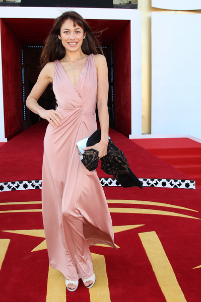 Olga Kurylenko Hot Style Pictures: Marrakech International Film Festival 2011 - Black Gold Photos, Pics