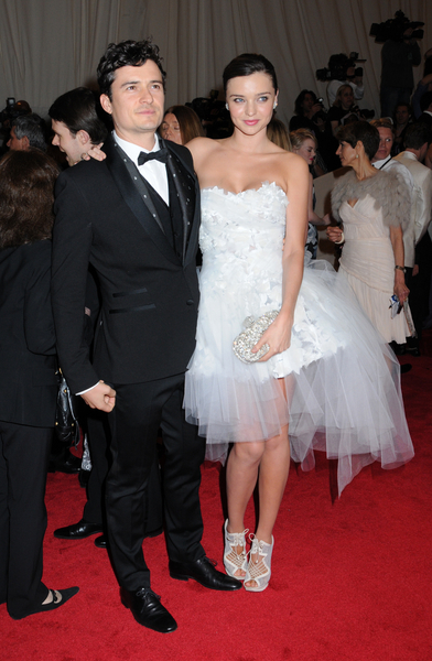 Orlando Bloom and Miranda Kerr Pictures: Alexander McQueen: Savage Beauty Photos, Pics