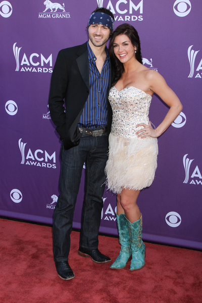 Paige Duke and Jeremiah James Korfe Pictures: Academy of Country Music (ACM) Awards 2012 Photos, Pics