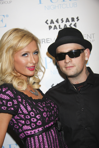 Paris Hilton and Benji Madden Photos