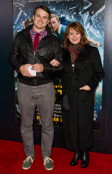 Patricia Richardson and Son Henry Pictures: The Adventures of Tintin Movie Premiere Photos, Pics