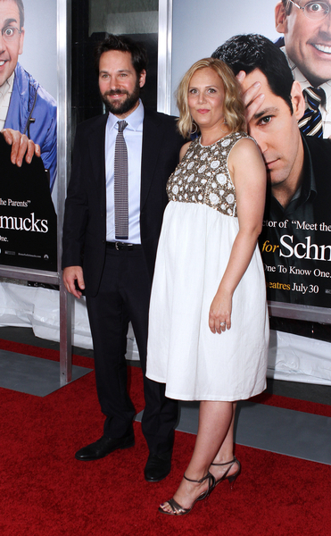 Paul Rudd and Wife Julie Yaeger Pictures: Dinner For Schmucks Premiere Red Carpet Photos and Pics