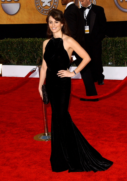 Penelope Cruz Sexy 15th Annual SAG Awards Red Carpet Pictures, Photos &amp; Pics