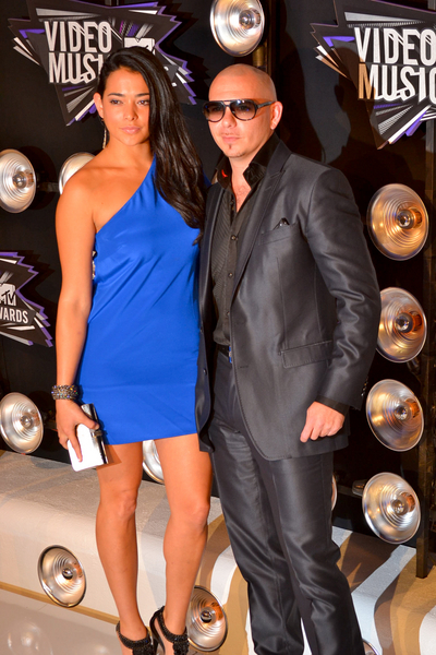 Pitbull Pictures: MTV Video Music Awards (VMAs) 2011 Red Carpet Photos, Pics